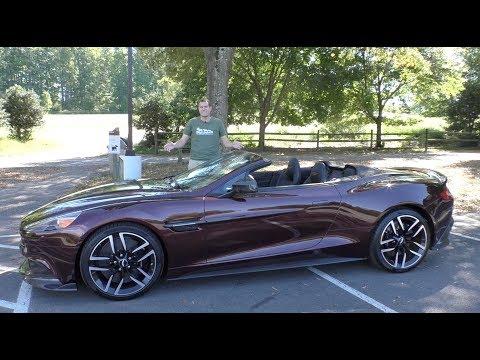 Here's Why the 2018 Aston Martin Vanquish S Costs $350,000