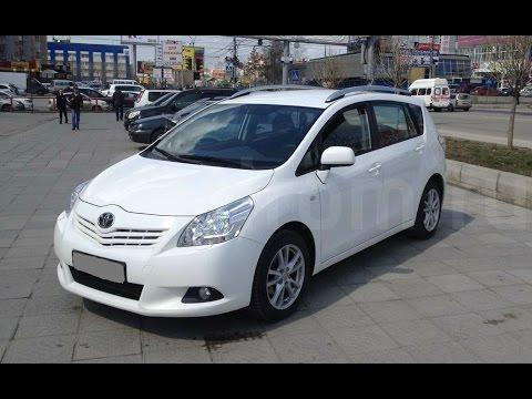 Выбираем б\у авто Toyota Verso (бюджет 600-700тр)