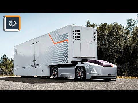 Volvo Показала Беспилотный Грузовик БЕЗ КАБИНЫ !!!