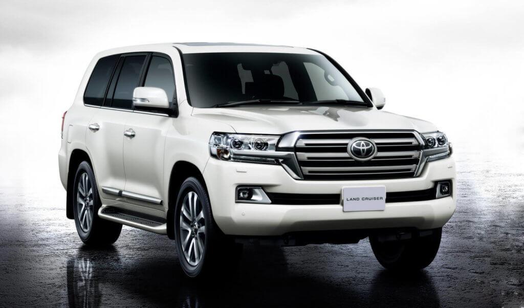 Toyota Land Cruiser 200 экстерьер