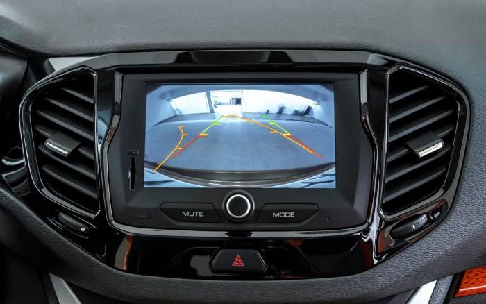 Лада «Веста» - Сенсорный дисплей мультимедиа