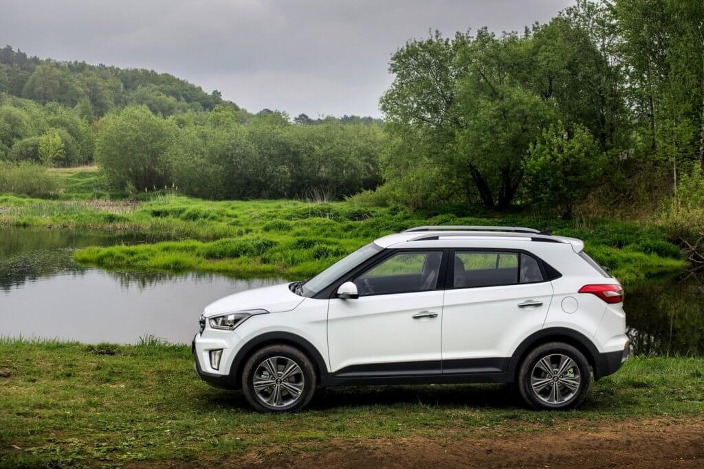 Hyundai Creta экстерьер