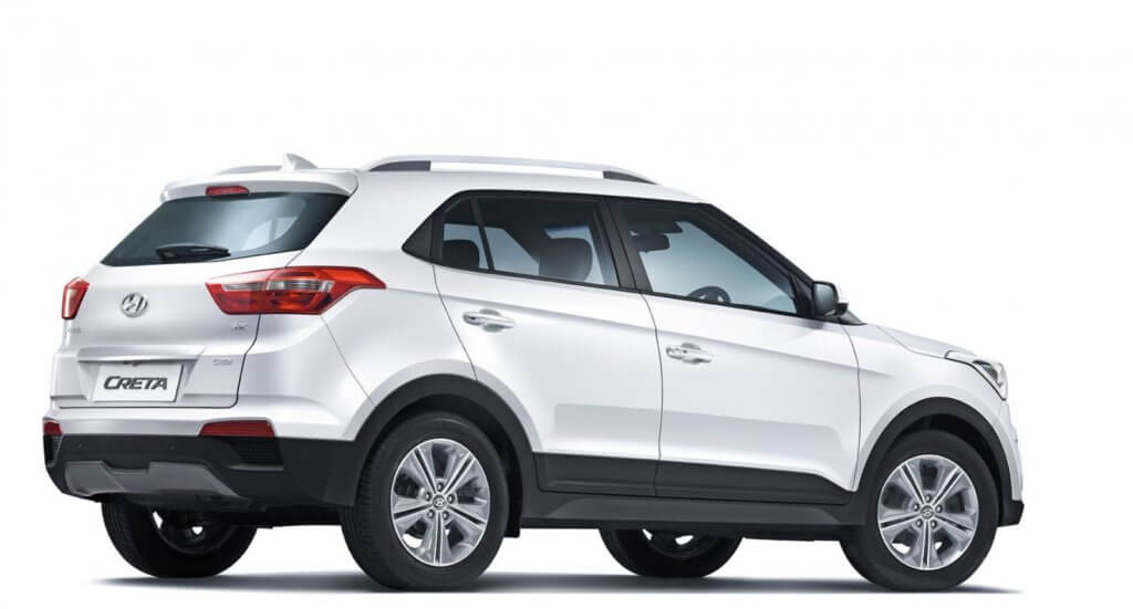 Hyundai Creta вид сбоку