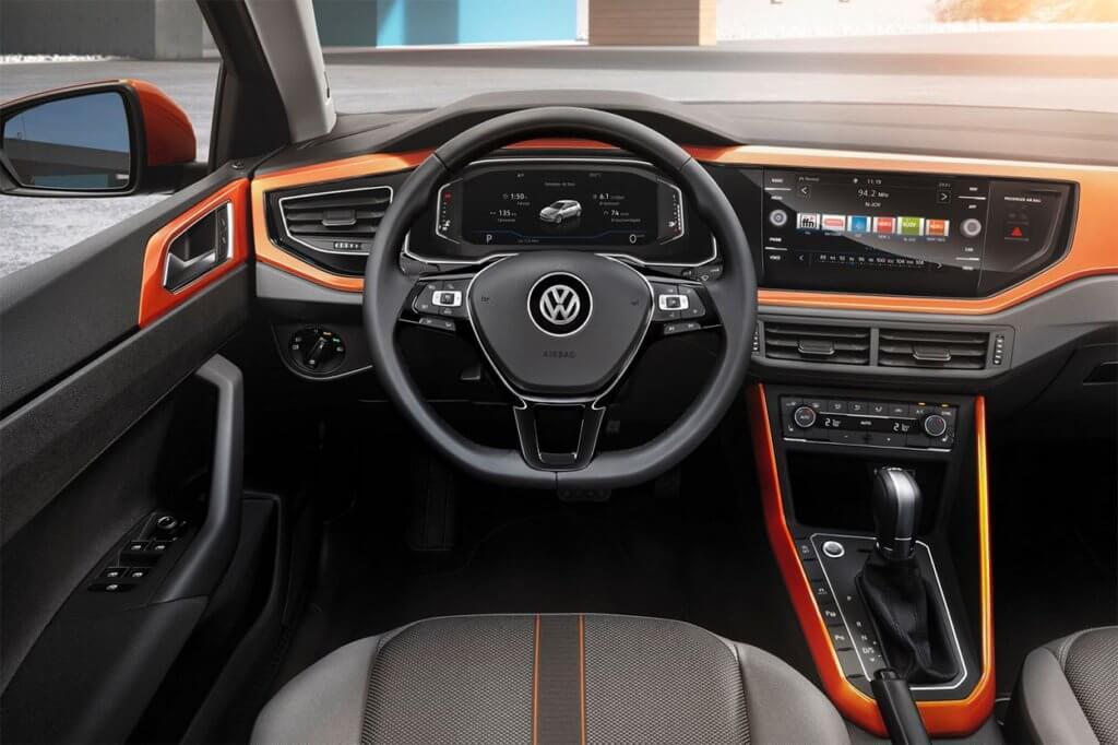 Volkswagen Polo управление