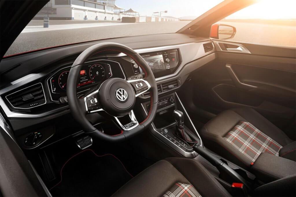 Volkswagen Polo дизайн внутри