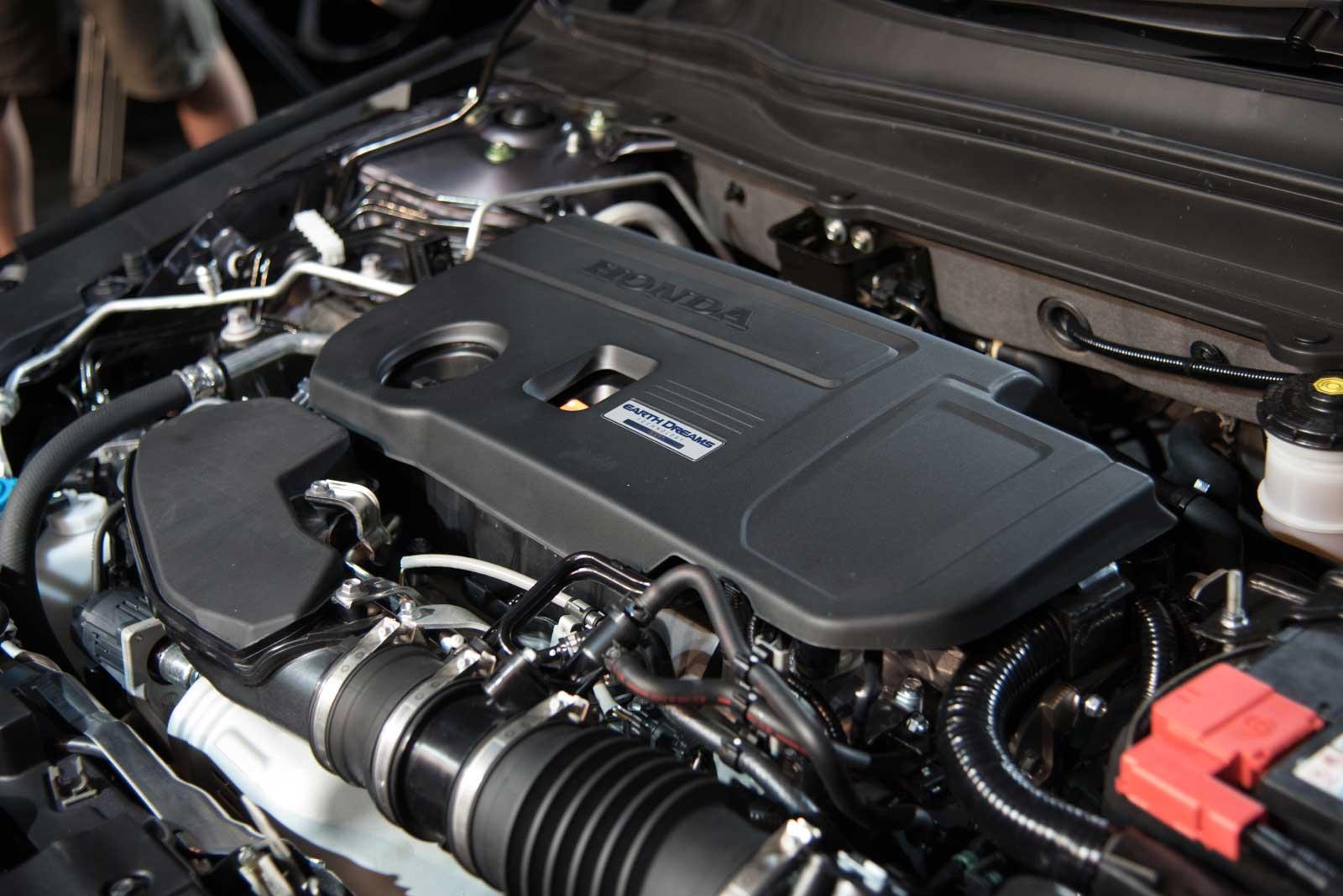 Турбо двигатель Honda Accord