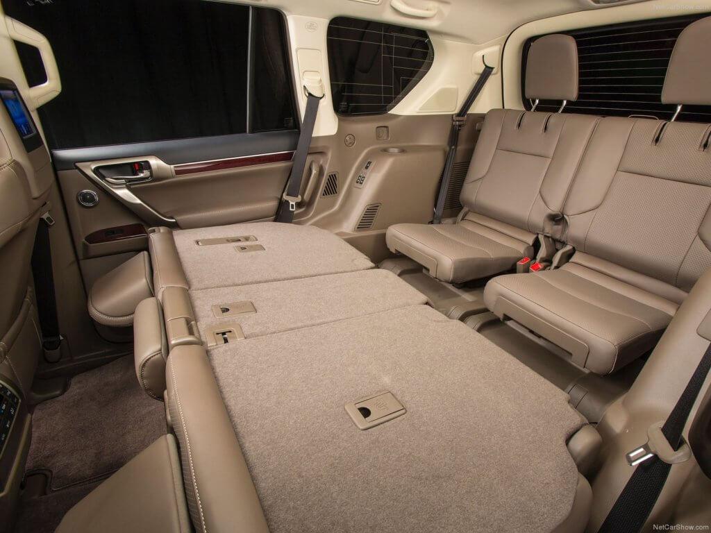 Лексус GX460 сиденья