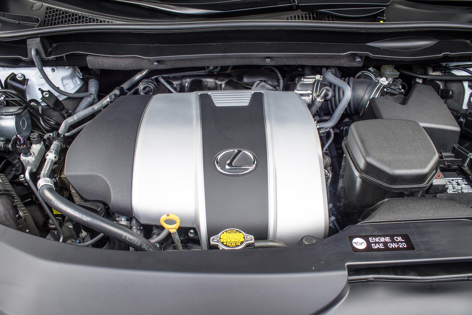 Lexus RX 350 двигатель