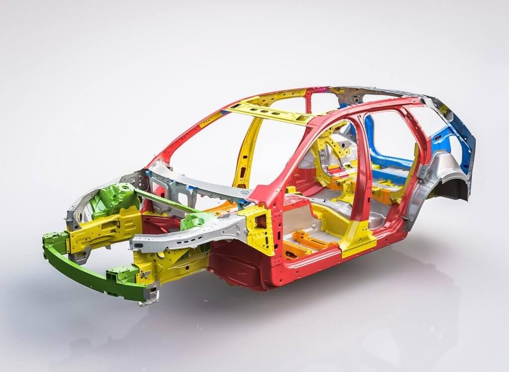 Volvo XC60 несущая конструкция