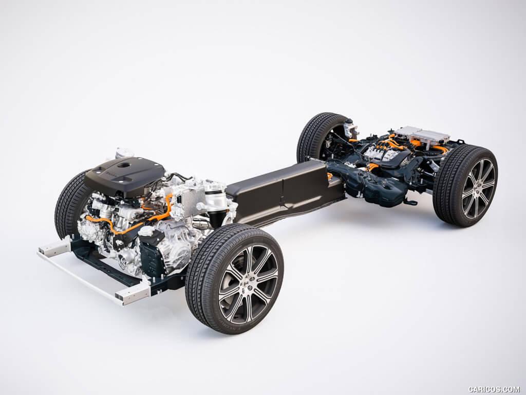 Volvo XC60 шасси