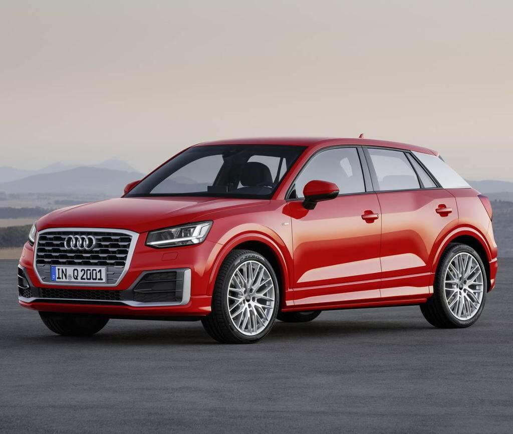 Audi Q2 экстерьер