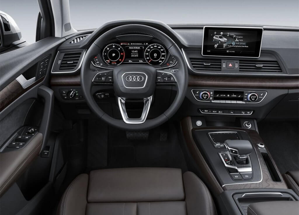 Audi Q5 салон
