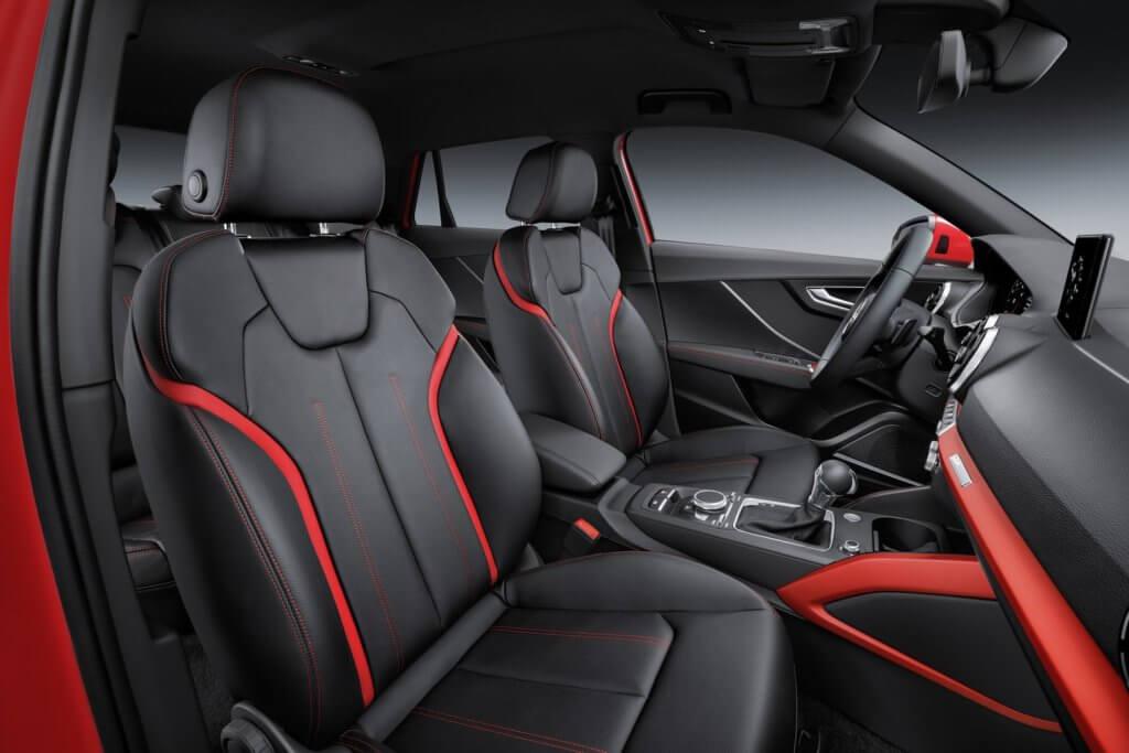 Audi Q2 сиденья