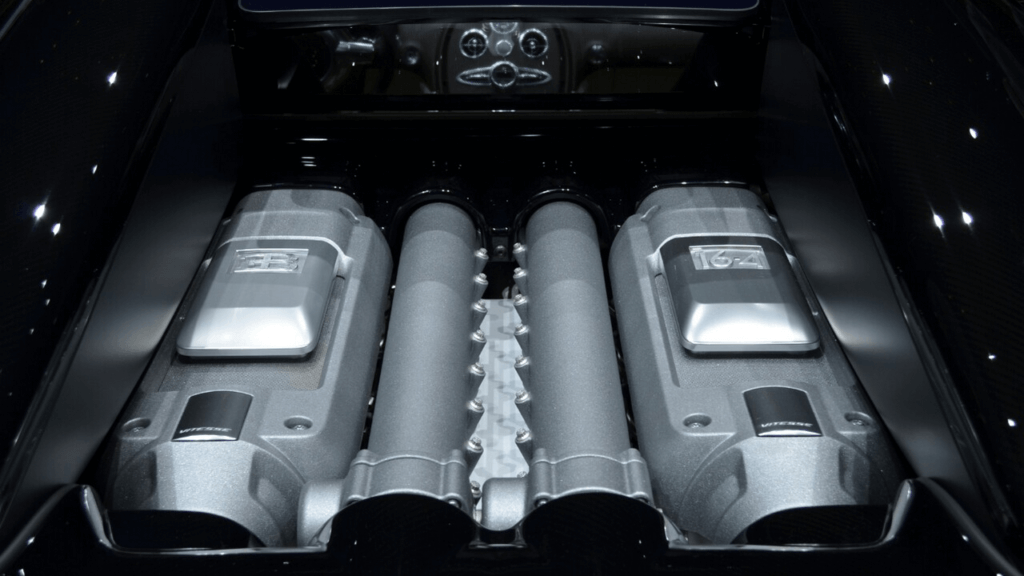 Bugatti Chiron 2019 - Бугатти Чирон двигатель