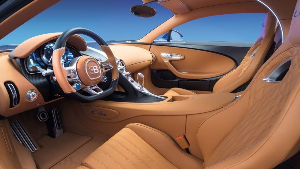 Bugatti Chiron 2019 - Бугатти Чирон салон