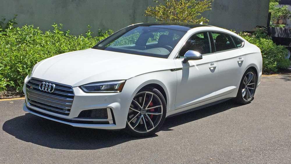 новая версия Audi A5