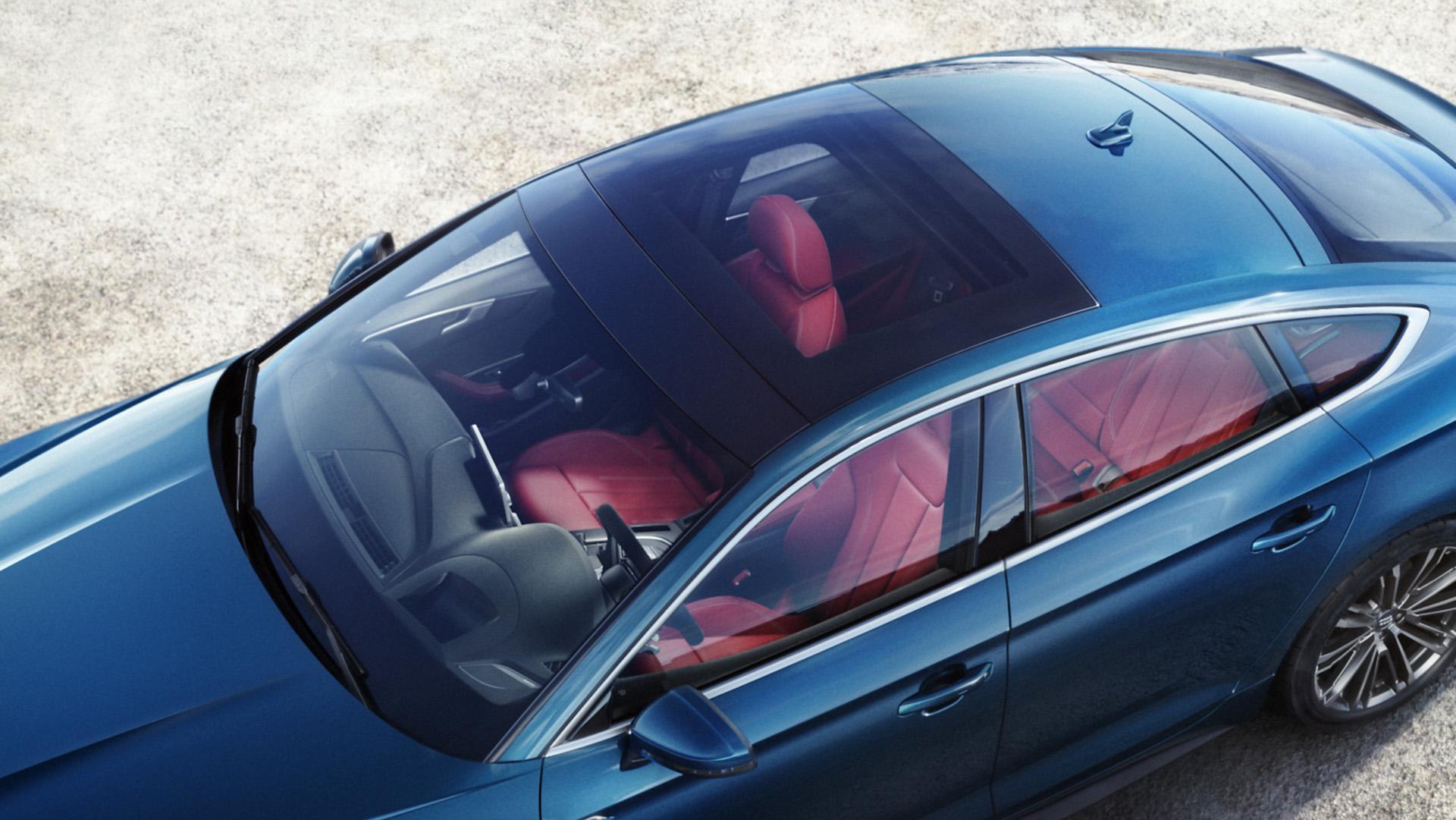 панорамная крыша Audi