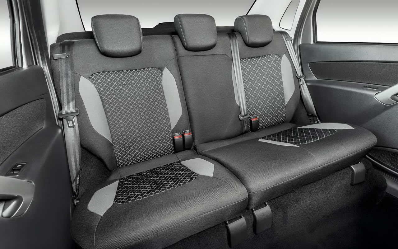 Лада Гранта - задний ряд сидений