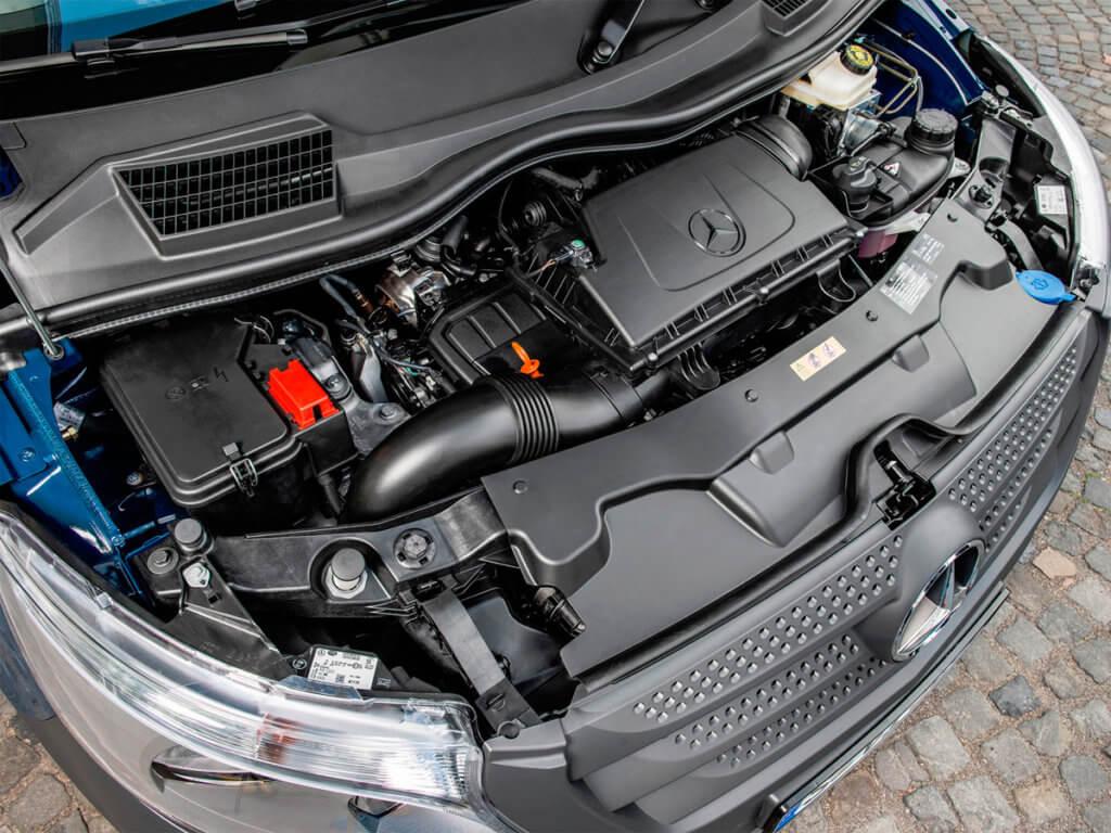 Мерседес Вито двигатель и мотор