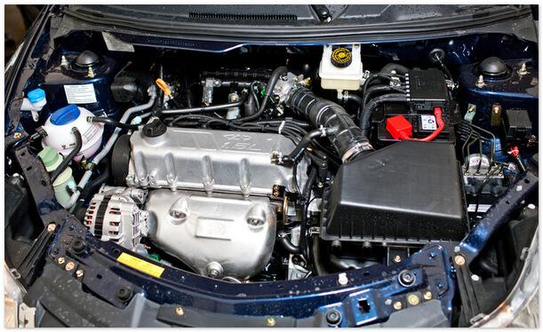 двигатель Чери Вери