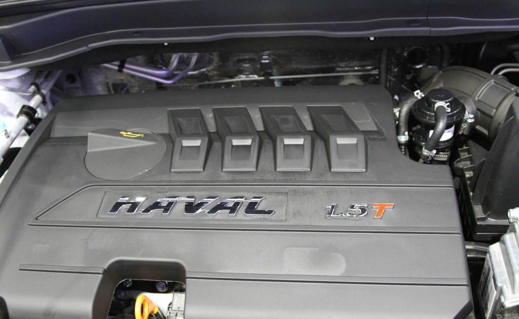 Кроссовер Haval H6 - двигатель