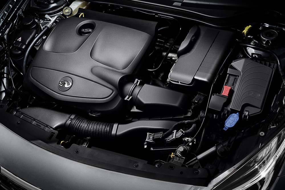 Infiniti Q30 2019 года - двигатель