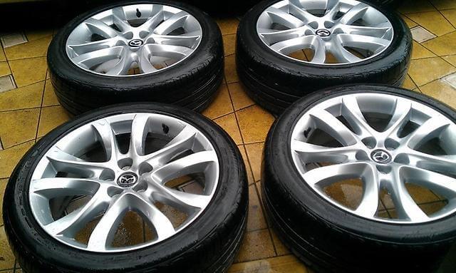 мазда 6 колёса