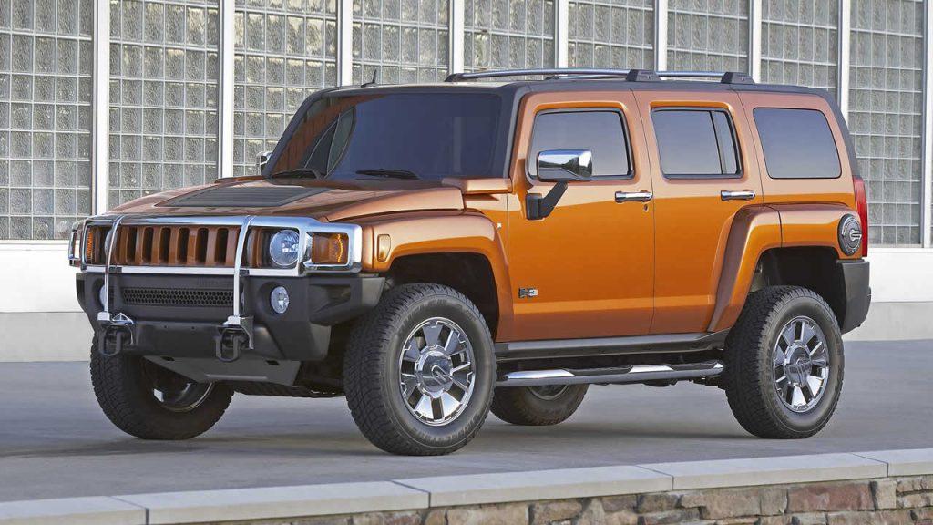 Hummer H3 2005-2010 года