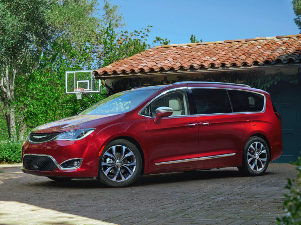 Chrysler Pacifica общий вид