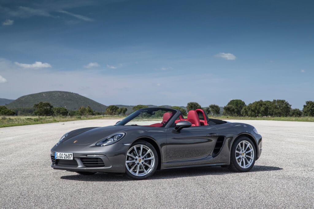 Porsche Boxster Spyder дизайн