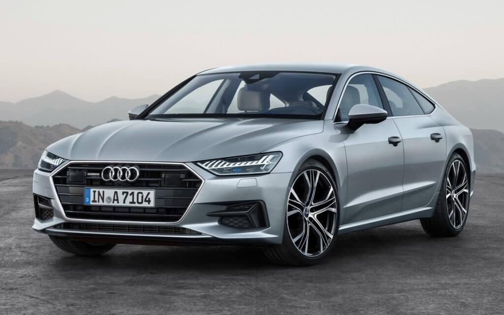 Audi A7 экстерьер