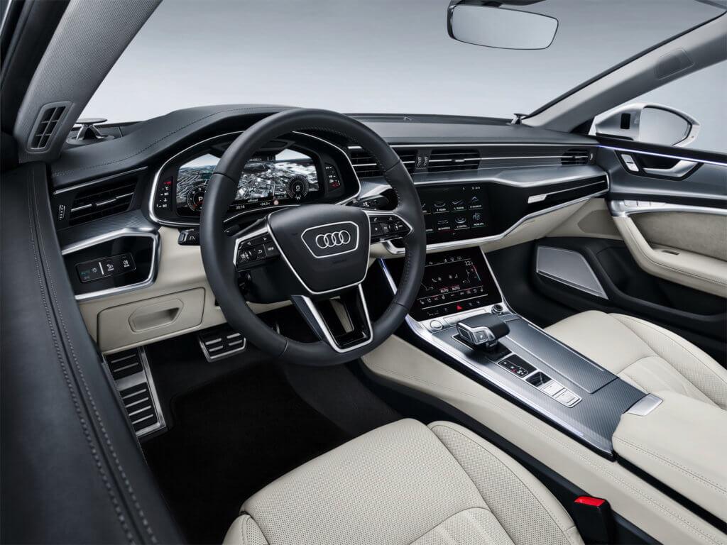 Audi A7 интерьер