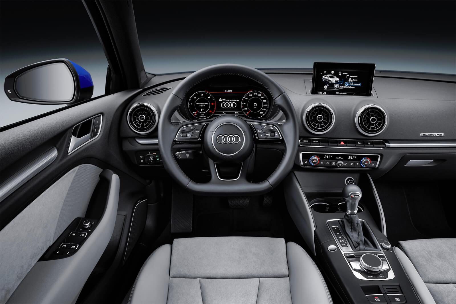 Audi A3 III (8V) Sedan Restyling - Интерьер, приборная панель, руль