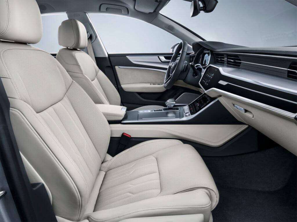 Audi A7 передние сиденья