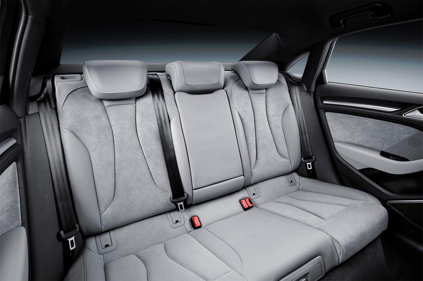Audi A3 III (8V) Sedan Restyling - Интерьер, задние сиденья