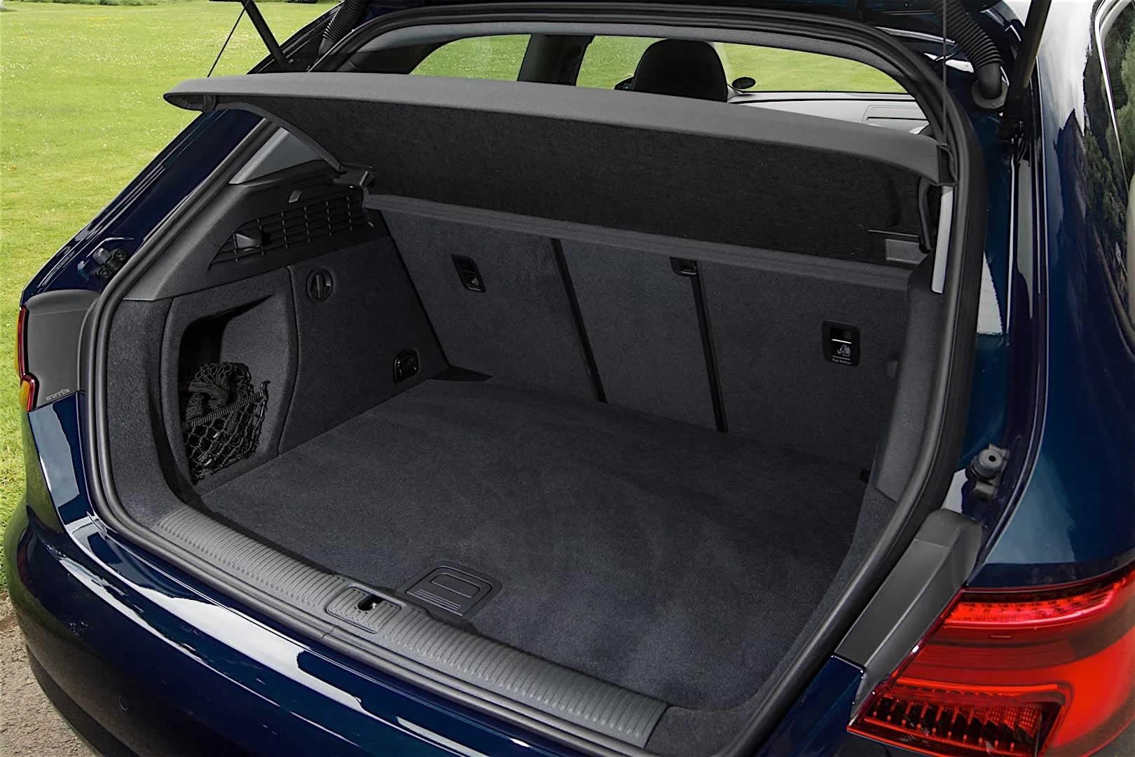 Ауди А3 III (8V) Седан Рестайлинг - Багажник