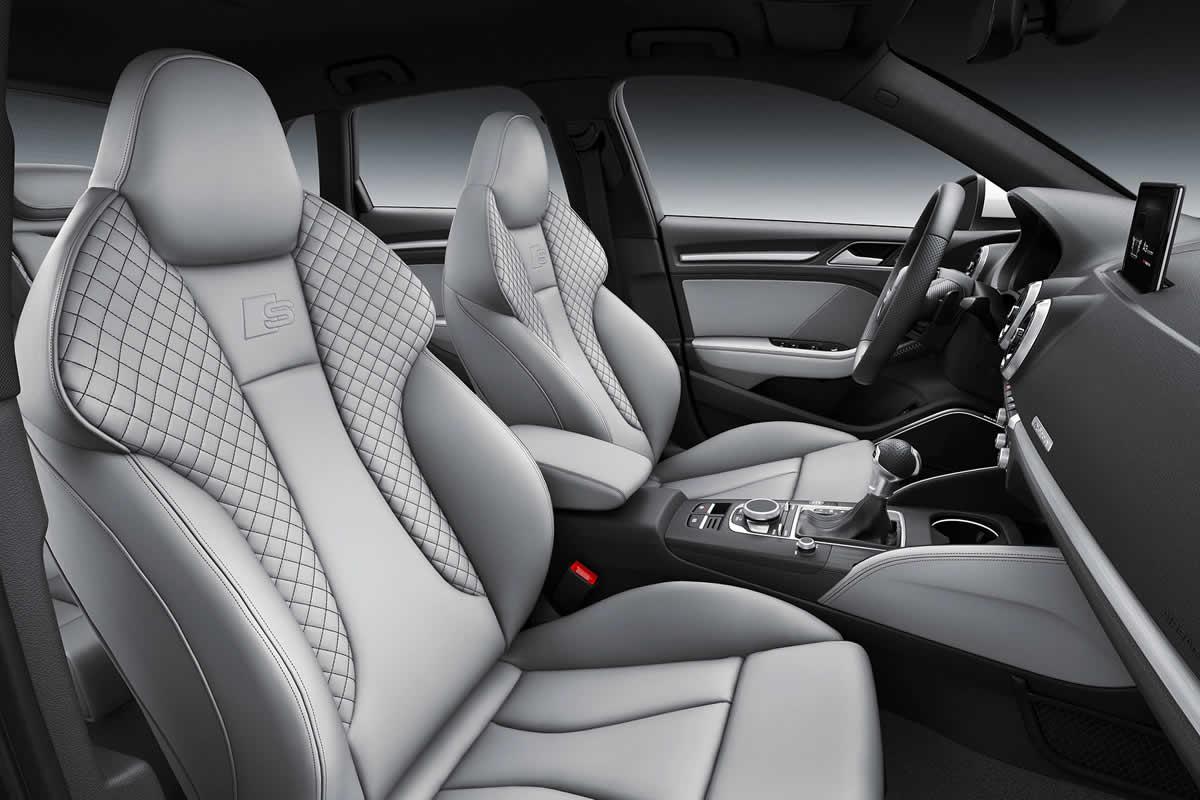 Audi A3 III (8V) Sedan Restyling - Интерьер, передние сиденья