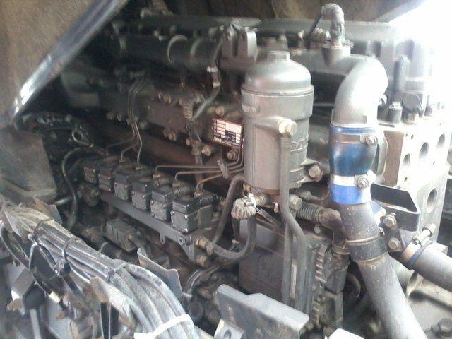 Даф 95 ХФ двигатель