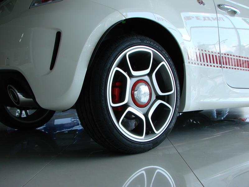 Fiat 500 2018 диски