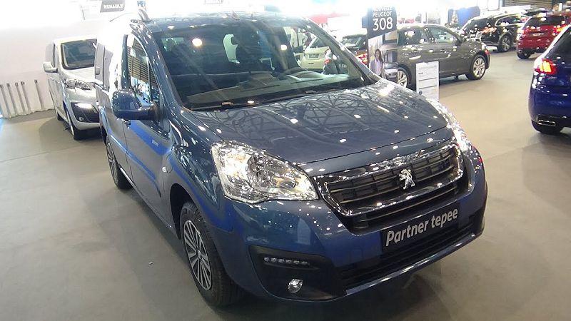 Peugeot Partner Tepee Комплектации