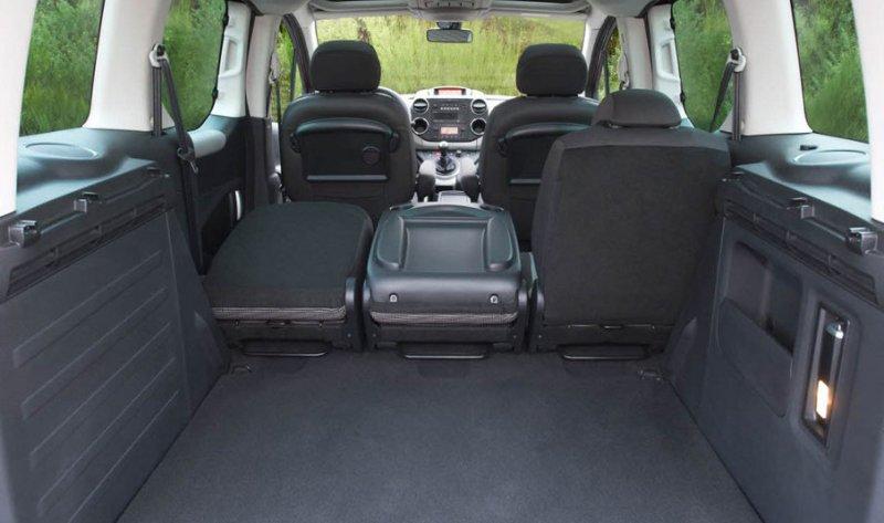 Peugeot Partner Tepee багажник