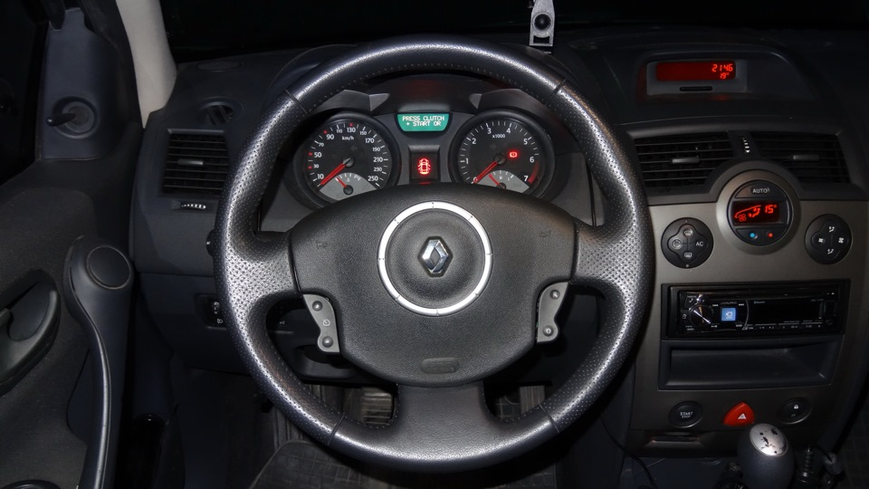 Renault Megane – руль