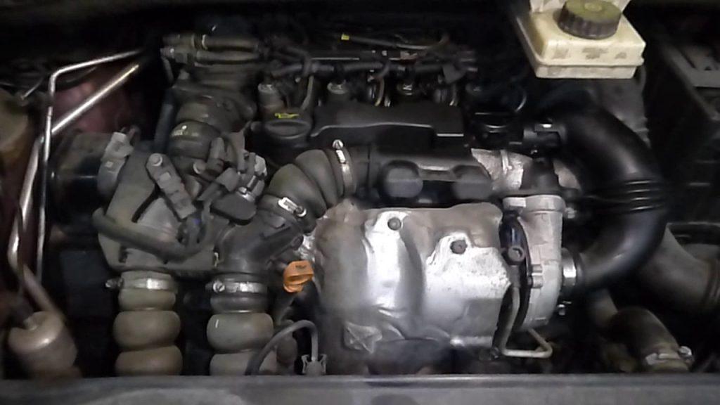Citroen Grand C4 Picasso двигатель дизель