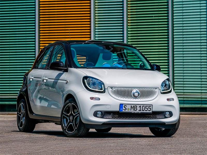 автомобиль Smart Forfour