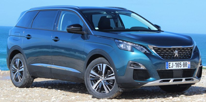 клиренс Peugeot 5008