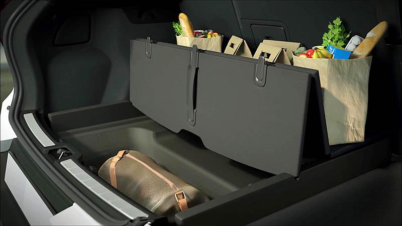 объем багажника 450 литров