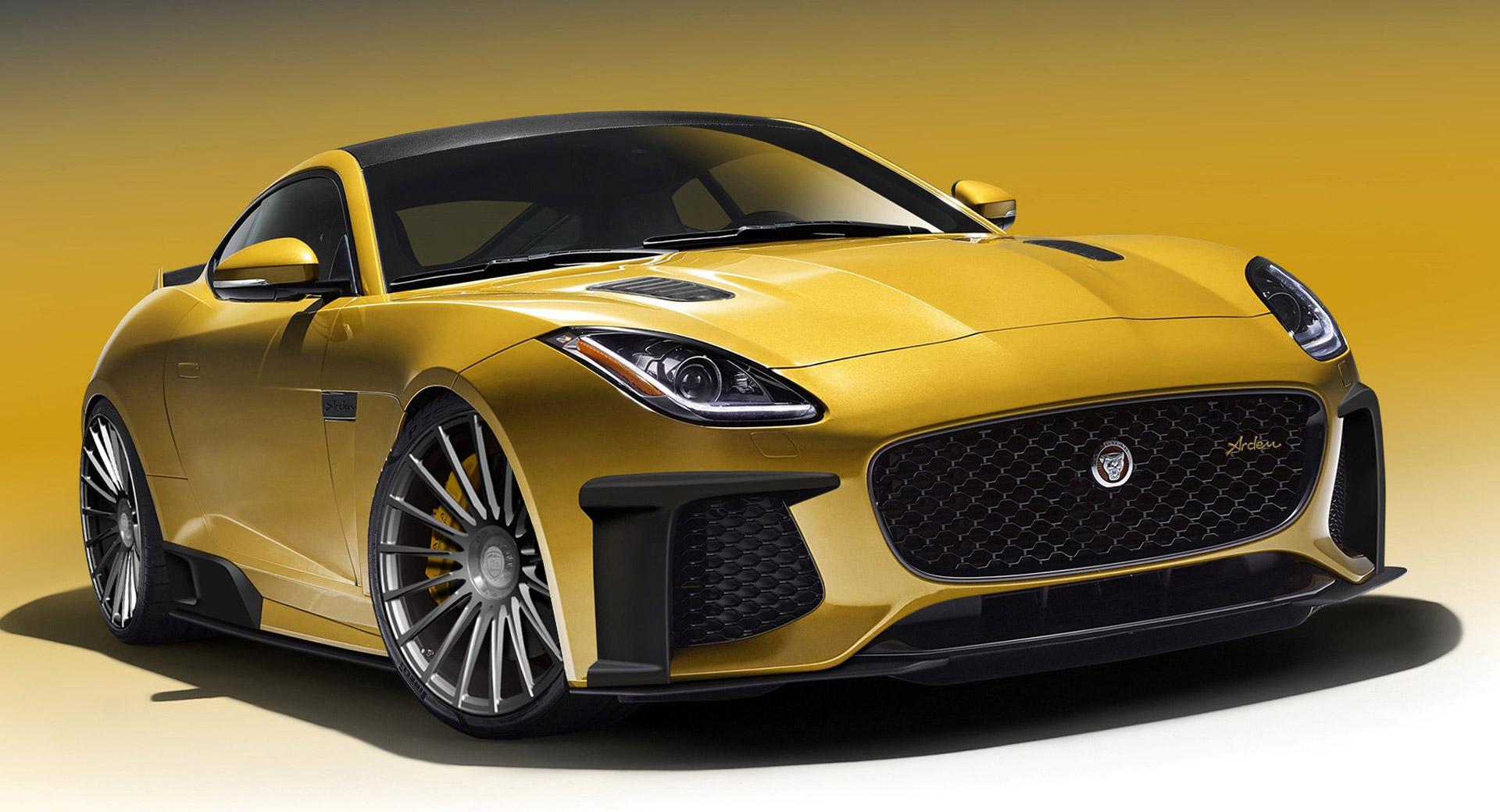 SVR jaguar f type