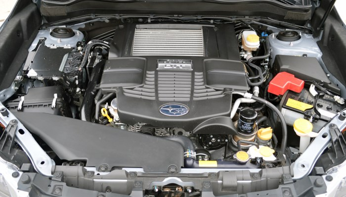 двигатель 2.0 subaru