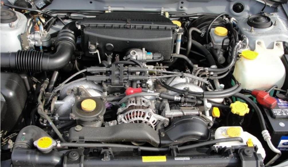 двигатель 2.5 subaru