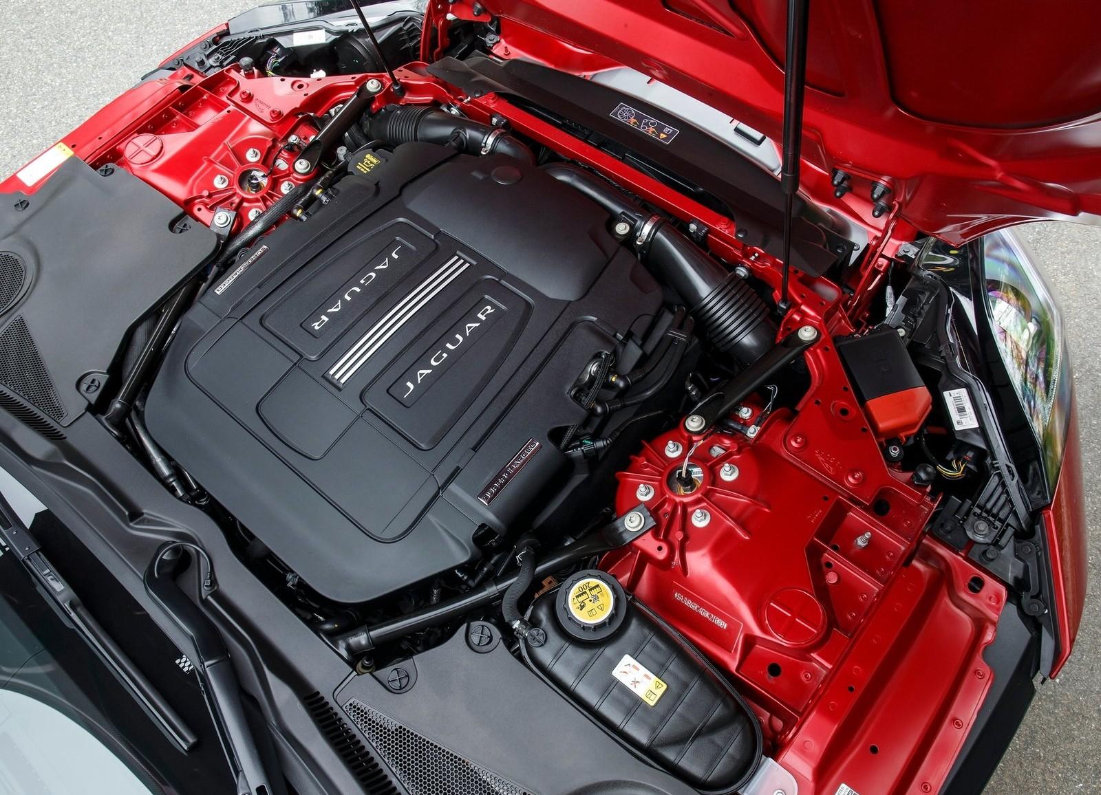 двигатель Jaguar F.